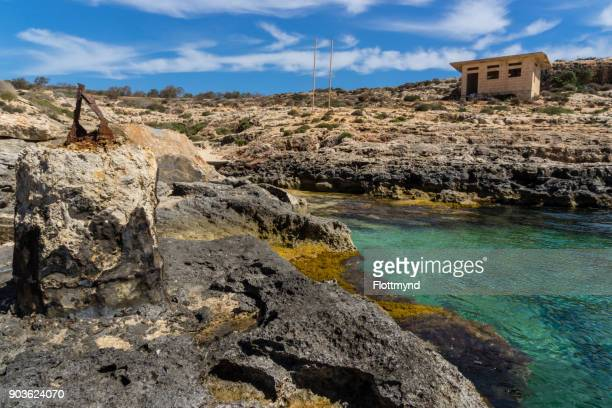 The other side of Comino, part of Malta