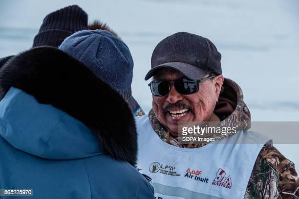 BAY INUKJUAK NUNAVIK QUEBEC CANADA The other winner of today in Inukjuak Peter 'Boy' Ittukallak of the Puvirnituq team Since 2001 Ivakkak has been an...