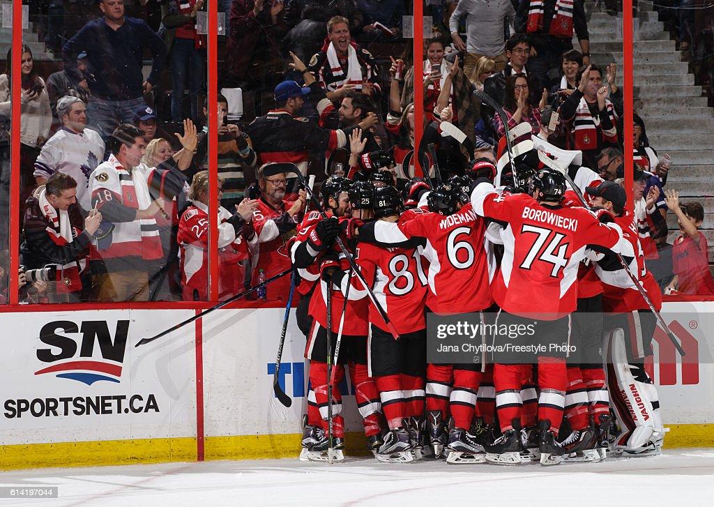 Toronto Maple Leafs v Ottawa Senators : News Photo