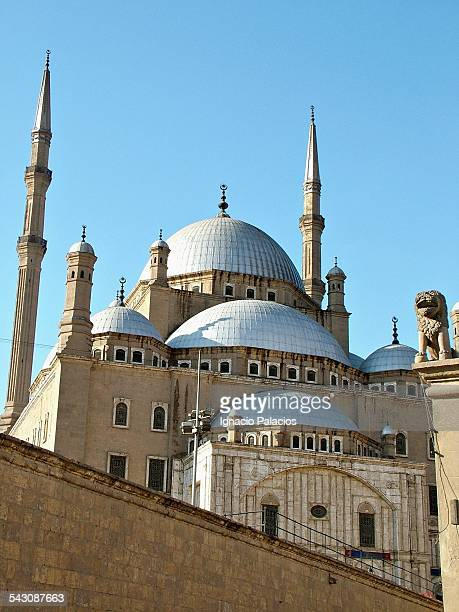 The Ottoman style mosque of Mohammed Ali