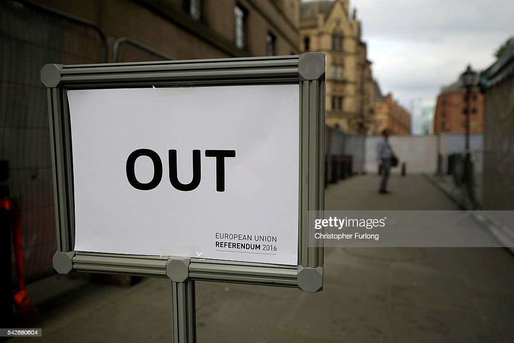 The Final Result Of The EU Referendum Is Declared : News Photo