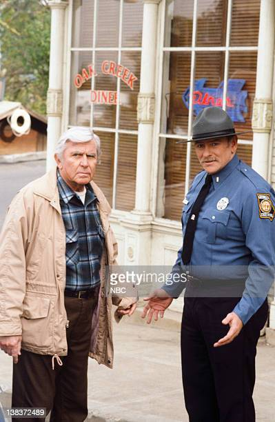 MATLOCK The Outcast Part 1 2 Episode 14 15 Pictured Andy Griffith as Benjamin Matlock Will MacMillan as Lt Lucas Wells