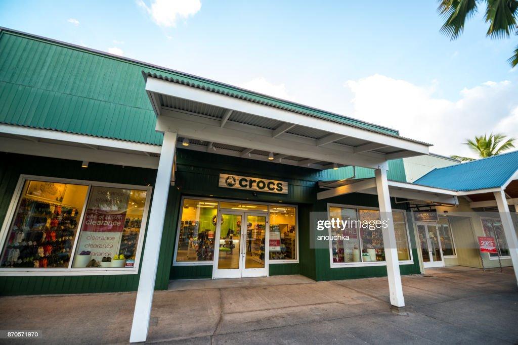 da29998ecc20 The Outlets Of Maui Shopping Area In Lahaina Maui Hawaii Usa Stock ...