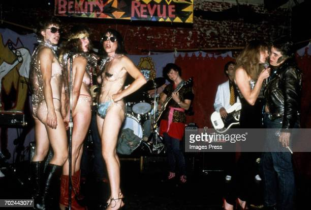 The Outrageous Beauty Revue held at the Fab Mab circa 1981 in San Francisco California
