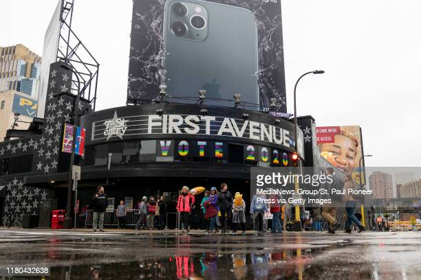 The outside of First Avenue in Downtown Minneapolis as seen on Thursday, Oct. 10, 2019.