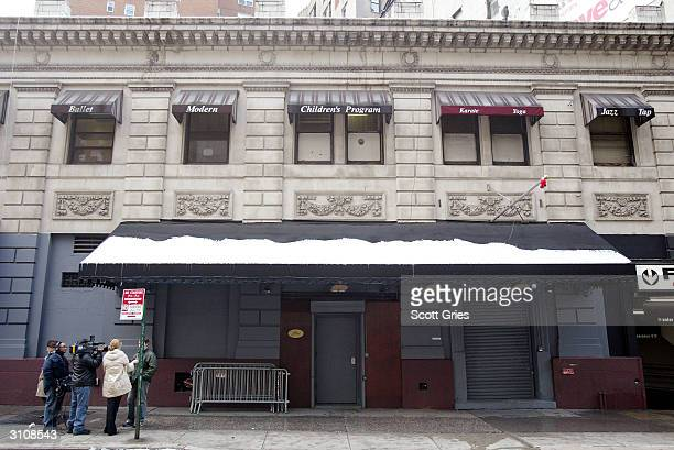 The outside of nightclub Plaid on March 18 2004 in New York City Plaid is where musician Courtney Love hit a concert goer in the head with a...
