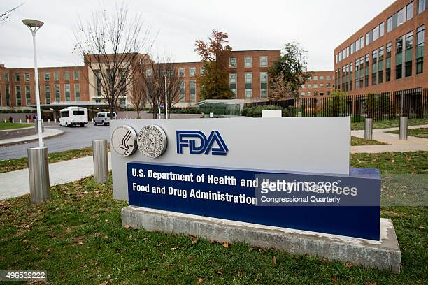 The outside of the Food and Drug Administration headquarters is seen in White Oak, Md., on Monday, November 9, 2015. The FDA is a federal agency of...