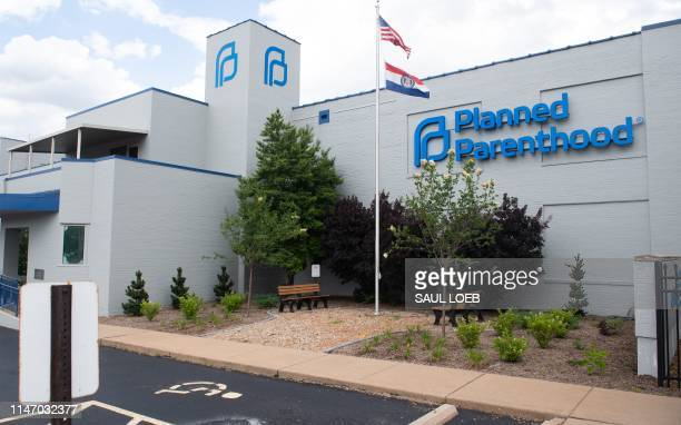The outside of the Planned Parenthood Reproductive Health Services Center is seen in St Louis Missouri May 30 the last location in the state...