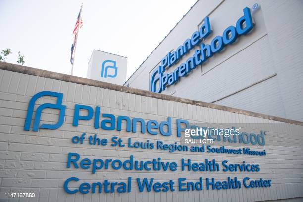 The outside of the Planned Parenthood Reproductive Health Services Center is seen in St Louis Missouri May 31 the last location in the state...