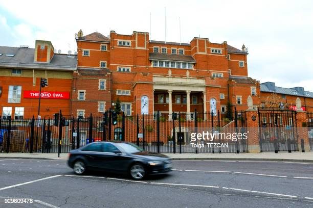 the oval cricket ground - oval kennington stock pictures, royalty-free photos & images