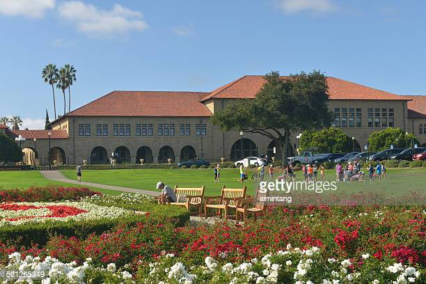 The Oval Park in Stanford University