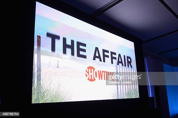 The overall general atmosphere at the premiere of SHOWTIME drama The Affair held at North River Lobster Company on October 6 2014 in New York City
