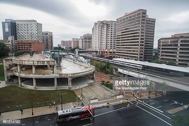 The overall view of the Silver Spring Transit Center on Tuesday August 12 2014 in Silver Spring MD