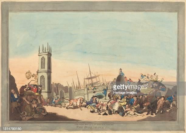 The Overdrove Ox, 1787. Artist Thomas Rowlandson.