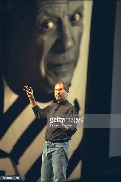 The owner of Apple presents the latest model at the AppleExpo trade fair at porte de Versailles