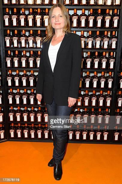 The owner of Blush Claudia Kleinert attends the runway at Cointreau Fizz Secret Garden presenting 'Blush' during MercedesBenz Fashion Week...