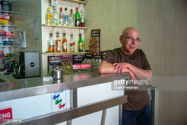 The owner of the Coney Island Bar in Victoria the capital of the island of Gozo in Malta The bar opened in the 1960s is a tiny but classic Modernist...