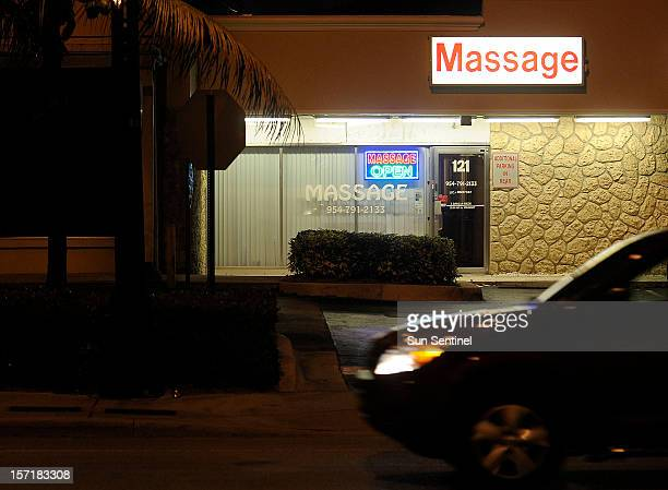 The owner of this massage parlor in Plantation Florida is among 161 Floridalicensed massage therapists under suspension The suspensions were part of...