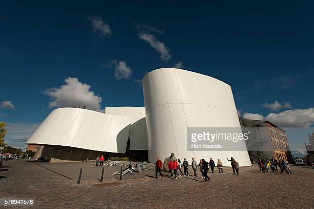 The Ozeaneum in Stralsund is a belonging to the Foundation German Oceanographic Museum Natural History Museum with a focus on sea'n on October 01...