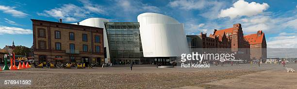 The Ozeaneum in Stralsund is a belonging to the Foundation German Oceanographic Museum Natural History Museum with a focus on sea'non October 01 2013...