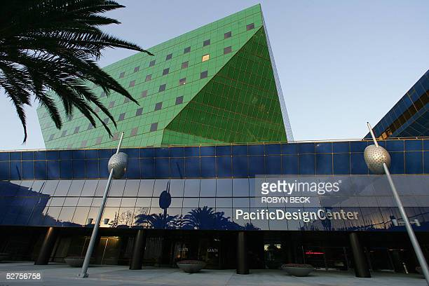 The Pacific Design Center in West Hollywood, California, 31 March 2005. One of Los Angeles' foremost architectural landmarks, The Pacific Design...