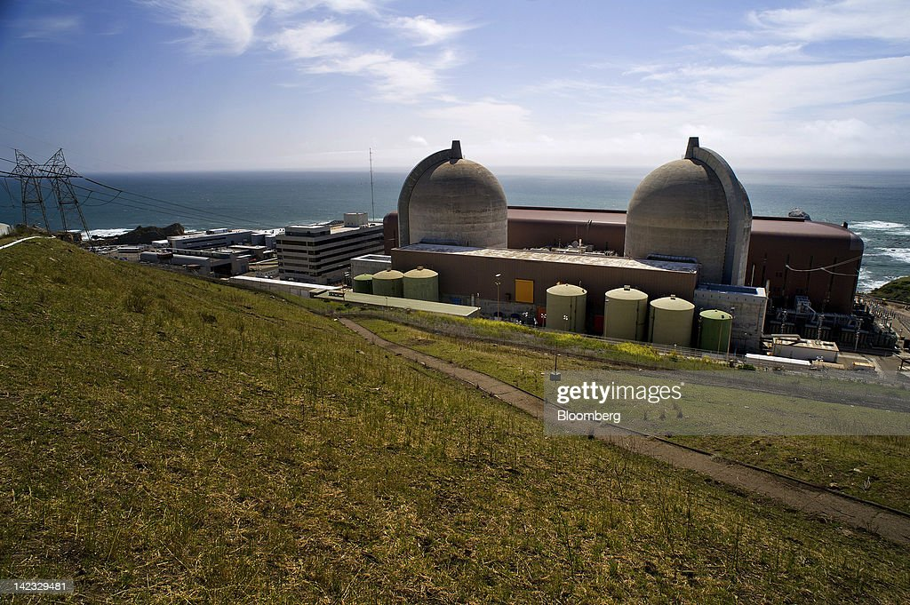 General Views Of The PG&E's Diablo Canyon Nuclear Plant : News Photo