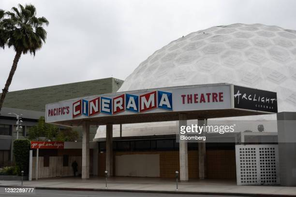The Pacific Theatres' Cinerama Dome, part of the ArcLight Hollywood complex, permanently closed in Hollywood, California, U.S. On Tuesday, April 13,...