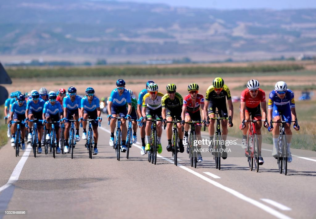 TOPSHOT-CYCLING-ESP-TOUR-VUELTA : Foto di attualità