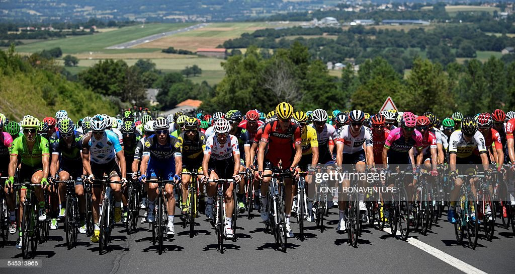 CYCLING-FRA-TDF2016-PACK : News Photo