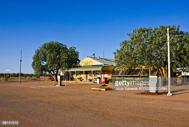 The Packsaddle Roadhouse is a rest stop on an outback desert highway Packsaddle Roadhouse Silver City Highway New South Wales Australia