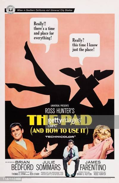The Pad And How To Use It poster US poster art from left James Farantino Brian Bedford Julie Sommars 1966