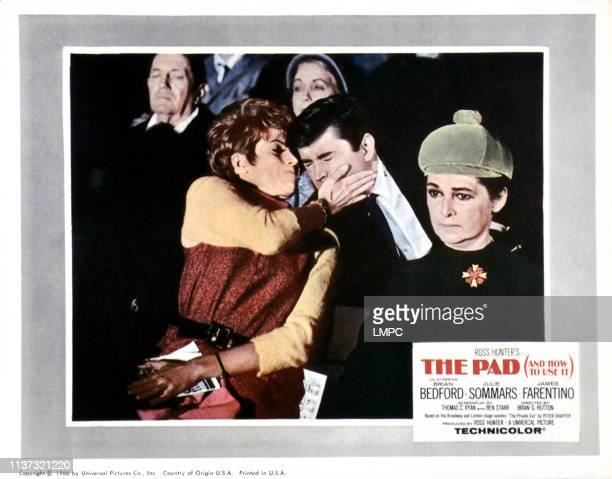 The Pad And How To Use It US lobbycard from left Julie Sommars James Farentino 1966