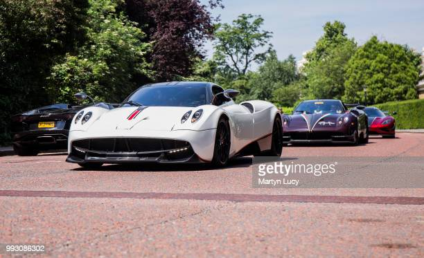The Pagani Huayra Closely followed by the Pagani Huayra BC and a Koenigsegg Agera R These cars were in London for a summer takeover Starting from the...