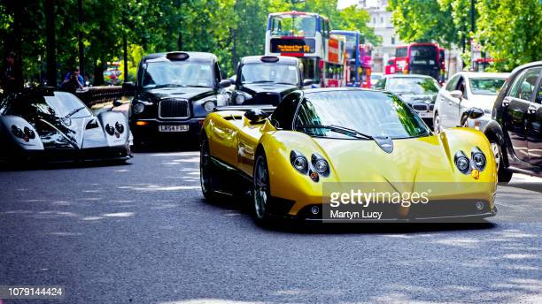 The Pagani Zonda F closely followed by the one off Pagani Zonda Oliver Evolution Only 25 examples of the Zonda F were produced The F stands for...