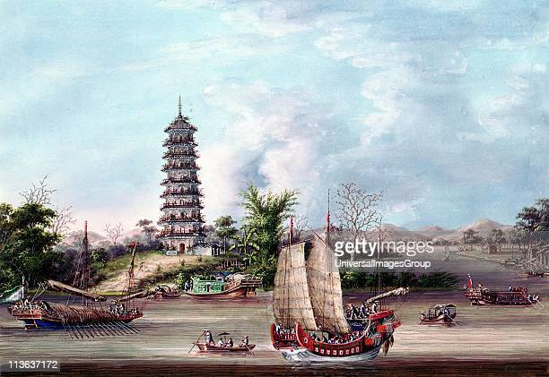 The Pagoda Whampoa Whampoa is to south of Canton Treaty of Whampoa between France and China one of the treaties forced on China at end of First Opium...