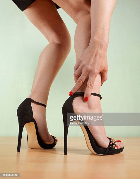 The pain of killer heels