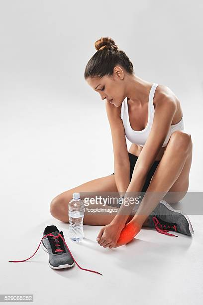the pain you feel today will be tomorrow's strength - female anatomy stock photos and pictures