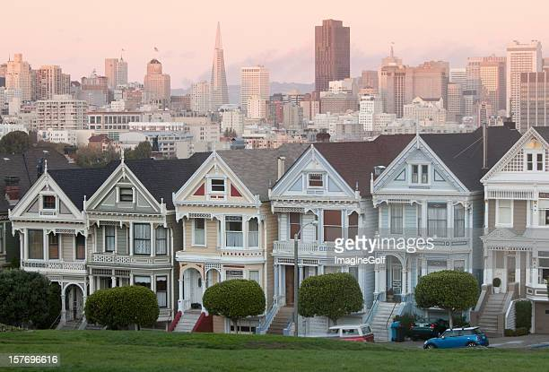 The Painted Ladies in San Francisco California