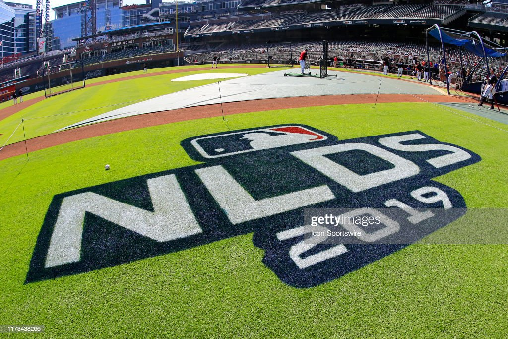 MLB: OCT 03 NLDS - Cardinals at Braves : News Photo