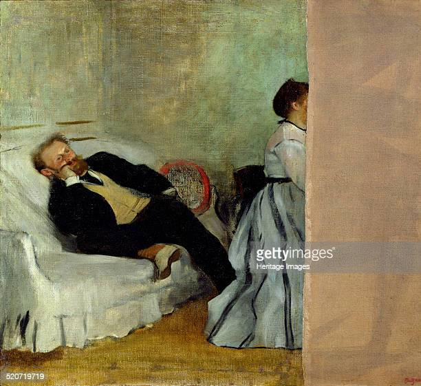 The painter Edouard Manet with his wife Suzanne Found in the collection of Kitakyushu Municipal Museum of Art