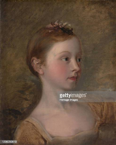 The Painter's Daughter Mary mid19th century Artist Unknown