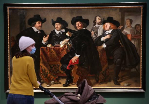 "DEU: ""Rembrandt's Orient"" Exhibition At Museum Barberini Potsdam"