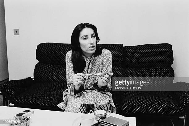 The Pakistani Politician Benazir Bhutto in December 1984