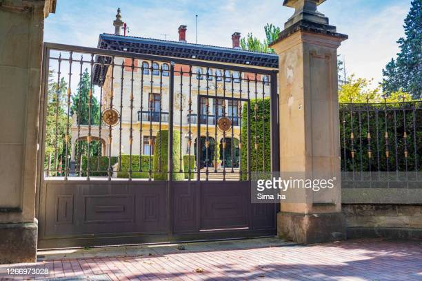 バスク国大統領官邸 アジュリア・アエア宮殿 - アラバ県 ストックフォトと画像