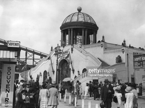 The 'Palace of Beauty' sponsored by soap manufacturer Pears at the British Empire Exhibition at Wembley