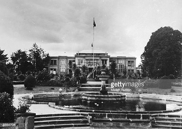 The palace of Emperor of Ethiopia Haile Selassie I