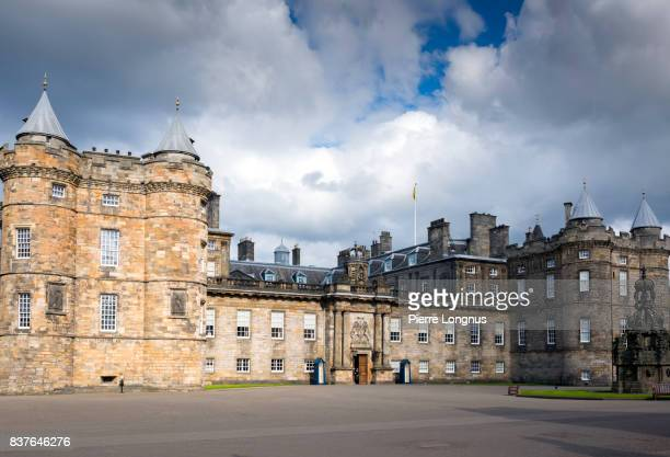 The Palace of Holyroodhouse, commonly referred to as Holyrood Palace, Edinburgh, Scotland