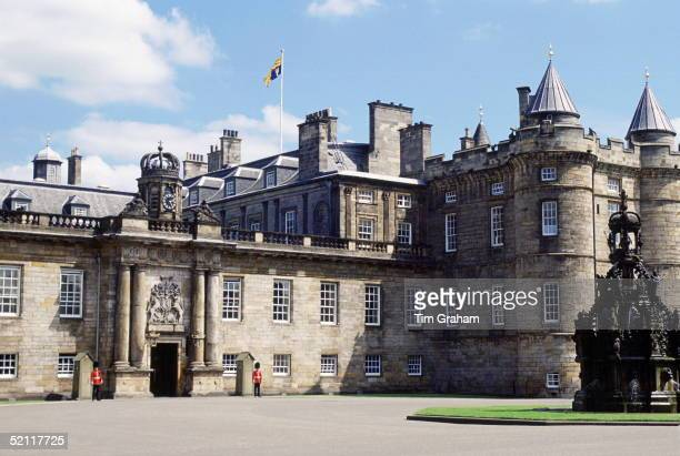 The Palace Of Holyroodhouse The Queen's Official Residence In Scotland