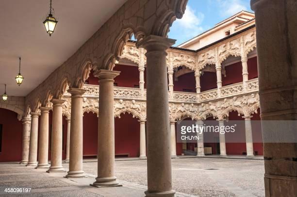 palácio de infantado - palácio imagens e fotografias de stock