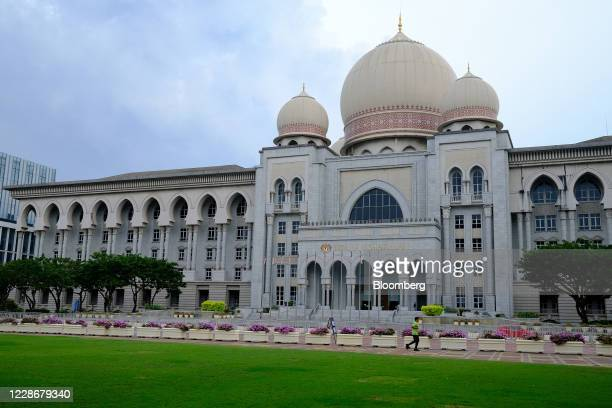The Palace of Justice stands in Putrajaya Malaysia on Wednesday Sept 23 2020 Malaysia's Prime Minister Muhyiddin Yassin urged people to reject moves...